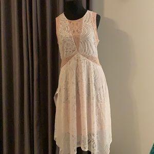 NWT BCBGMAXAZRIA Meilani Floral Lace Dress